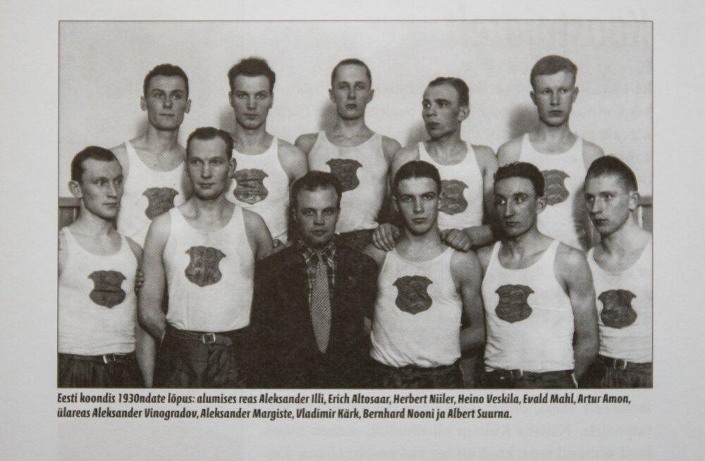 1930-ndate lõpu Eesti korvpallikoondis
