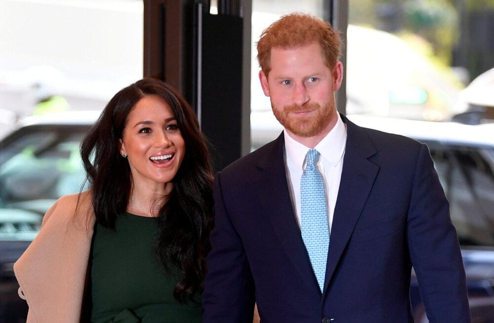 NUNNU KLÕPS | Nagu tavakodanikud! Prints Harry näitas pisipoega