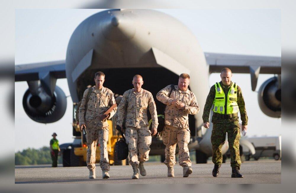 Viimased kaitseväelased jõudsid Helmandist koju