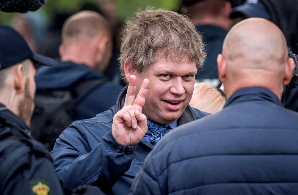 Belgia saatis välja viis Taani paremäärmuslast, kes kavatsesid Brüsselis koraani põletada