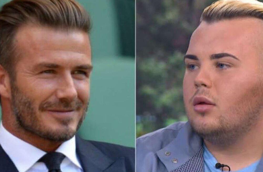 On see seda väärt? David Beckhami fänn on kulutanud üüratu summa nägemaks välja nagu tema iidol