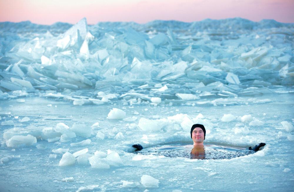 Parimad kohad, kuhu talvel ujuma sõita