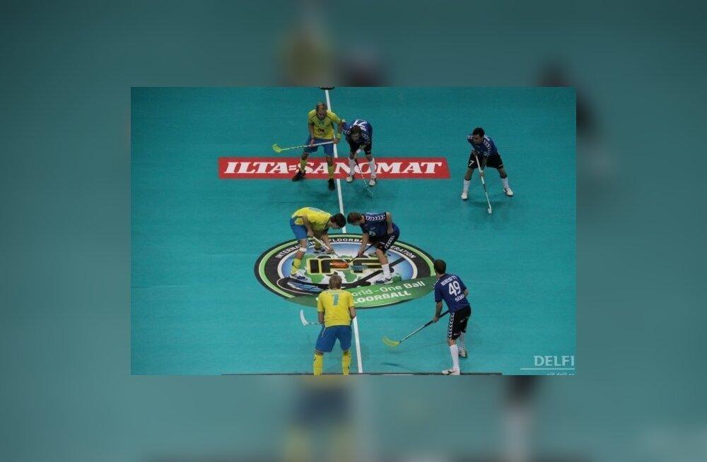 Eesti saalihokikoondis purustas Austraalia meeskonna