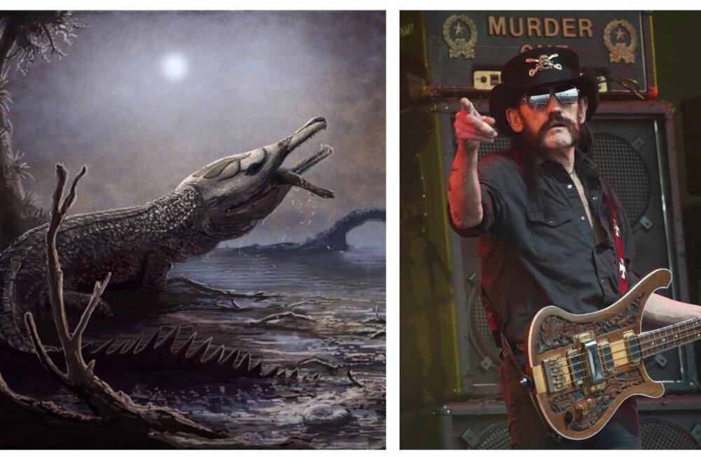 Motörheadi Lemmy elab edasi hirmsa iidse krokodillina