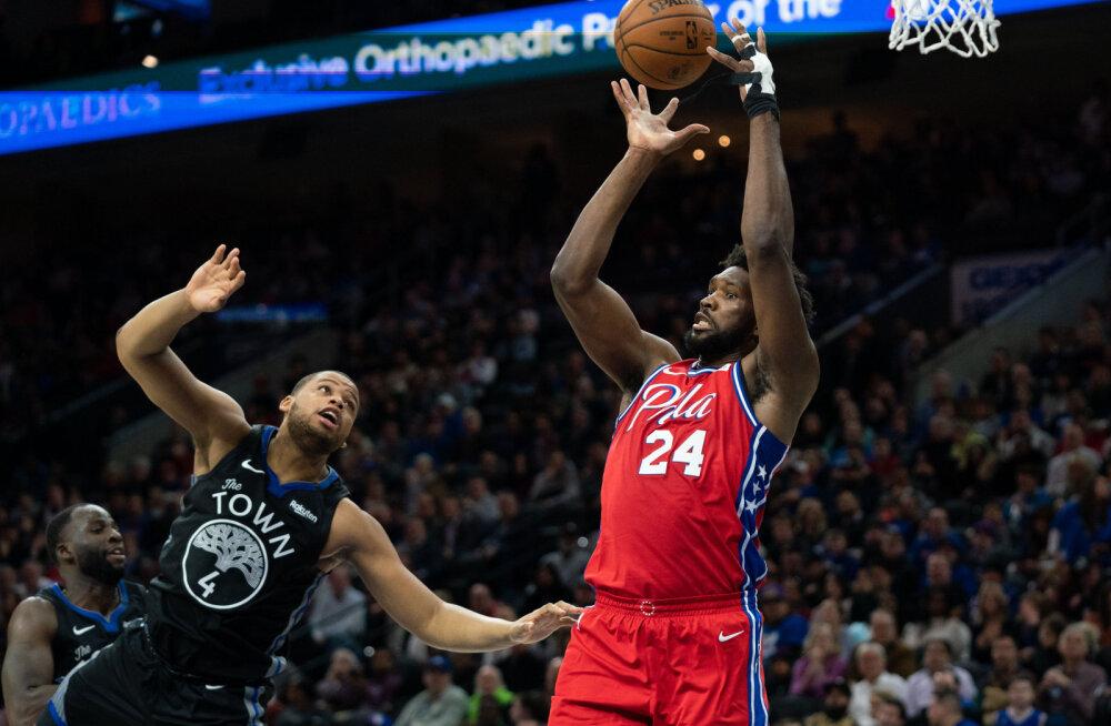 VIDEO | Kobe Bryanti auks särginumbrit 24 kandnud Philadelphia täht viskas võidumängus... 24 punkti