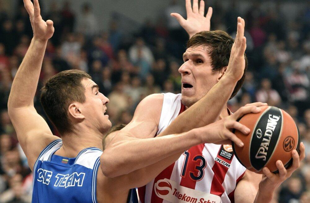 Spurs ei luba Serbia koondise tsentrit EM-ile
