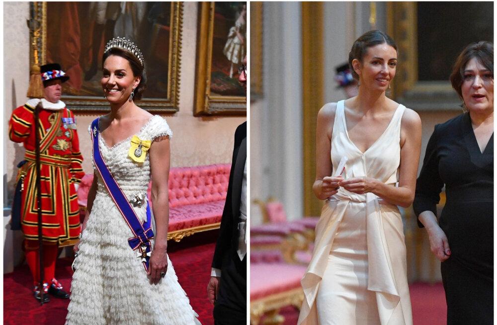 FOTO | Väga piinlik! Kuninglikul banketil sattusid kokku Williami abikaasa ja väidetav armuke, kuid naised hoiti meelega üksteisest lahus