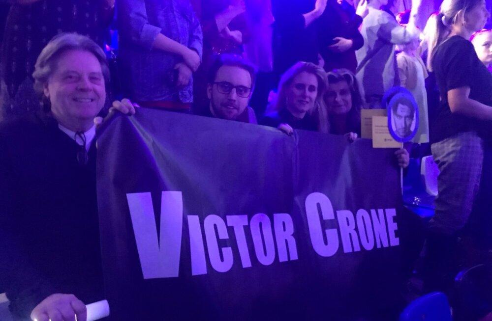 Victor Crone isa hetked pärast poja etteastet: ma nutsin, kui teda nägin!