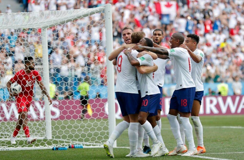 Inglismaa purustas Panama 6:1