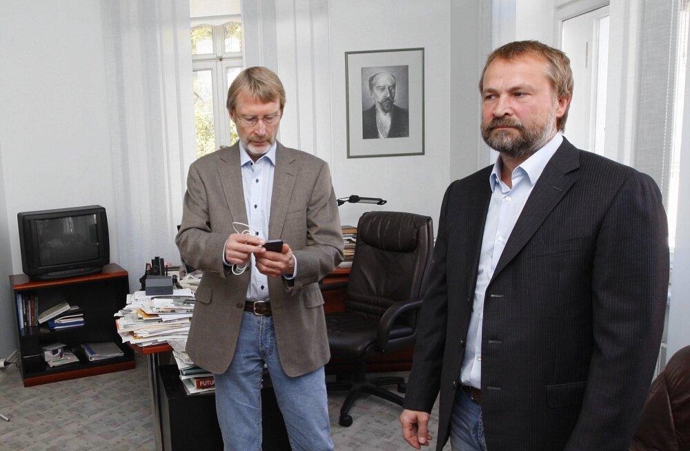 Margus Linnamäe (paremal).