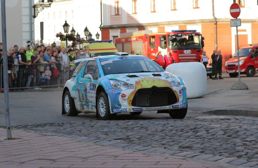 Rally Estonia Tartu linnakatse, Karl Kruuda