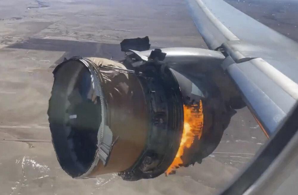 Denveris purunenud lennukimootorist leiti metalli väsimise jälgi