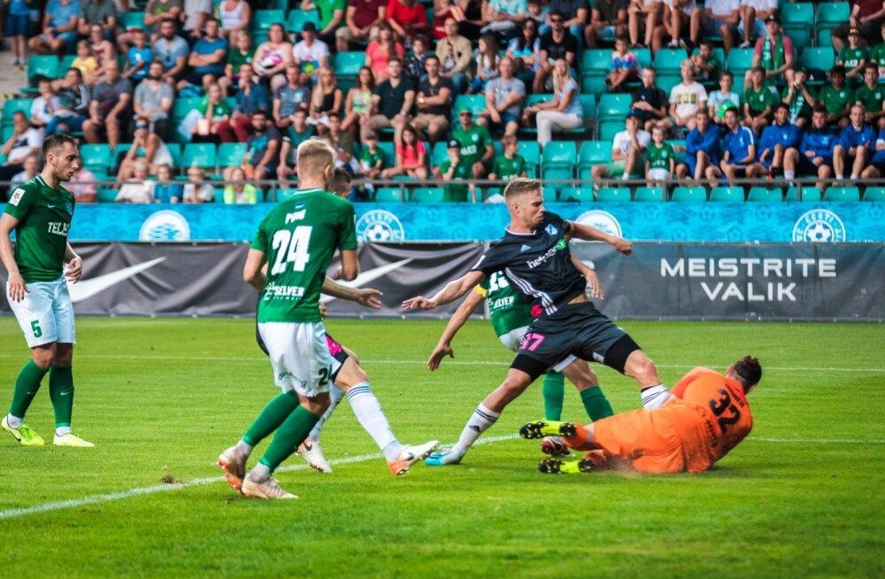 FC Flora - Nõmme Kalju, Robert Kirss (nr 17)