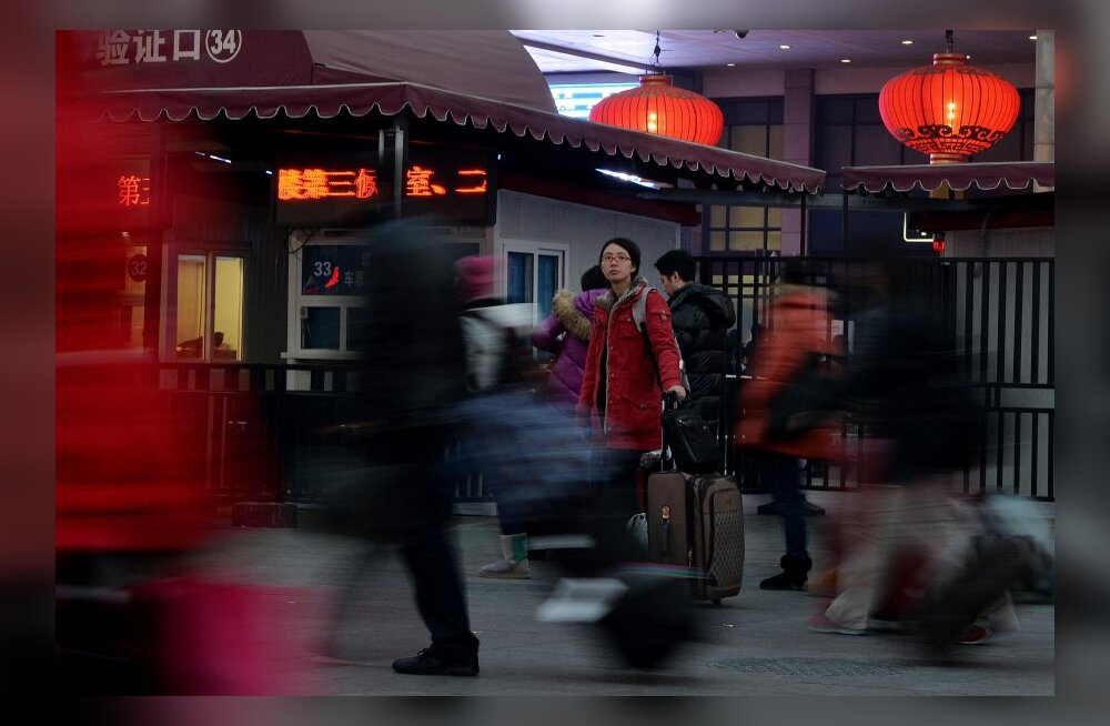 Hiina uusaasta ja kevadfestival põhjustasid ajaloo suurima inimrände