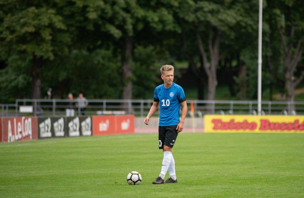 Esimesed punktid kirjas: Eesti U21 jalgpallikoondis võitis EM-valikmängus Lätit