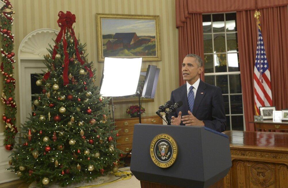 Obama püüdis pöördumises rahva poole rahustada avalikkust terroriohu suhtes