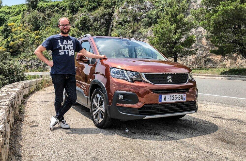 Maasturilaadsed, tõmmake koomale: ausalt praktiline Peugeot Rifter on kohal