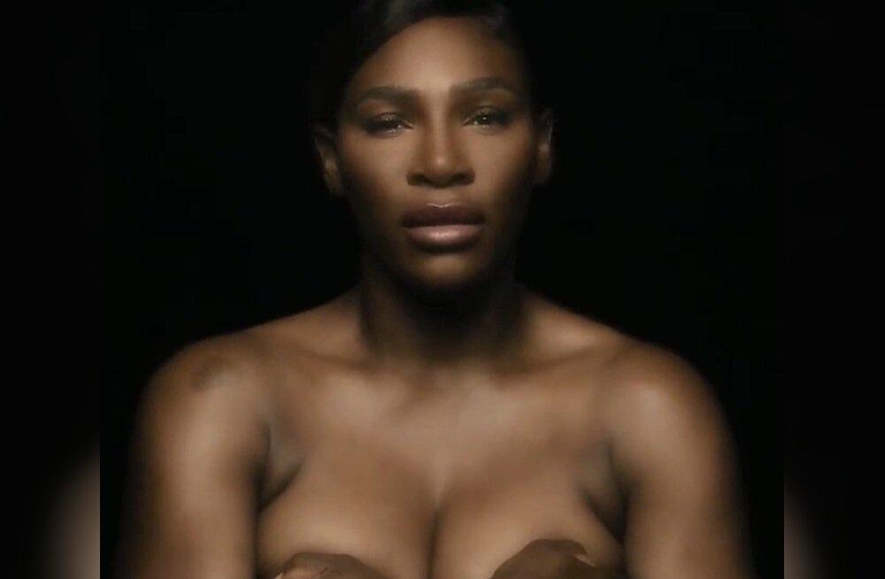 Serena Williams rinnavähi vastu võitlemise kampaanias