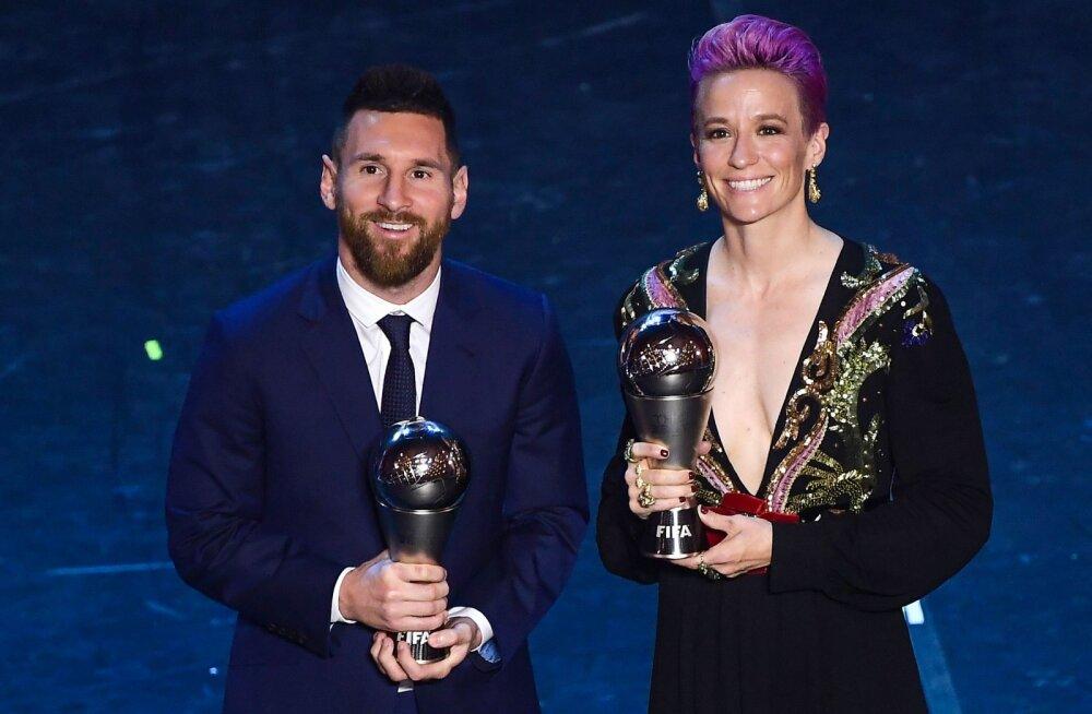 """Maailma parim naisjalgpallur hurjutas Messit, Ronaldot ja Zlatanit: """"See teeb mind kurvaks ja vihaseks!"""""""