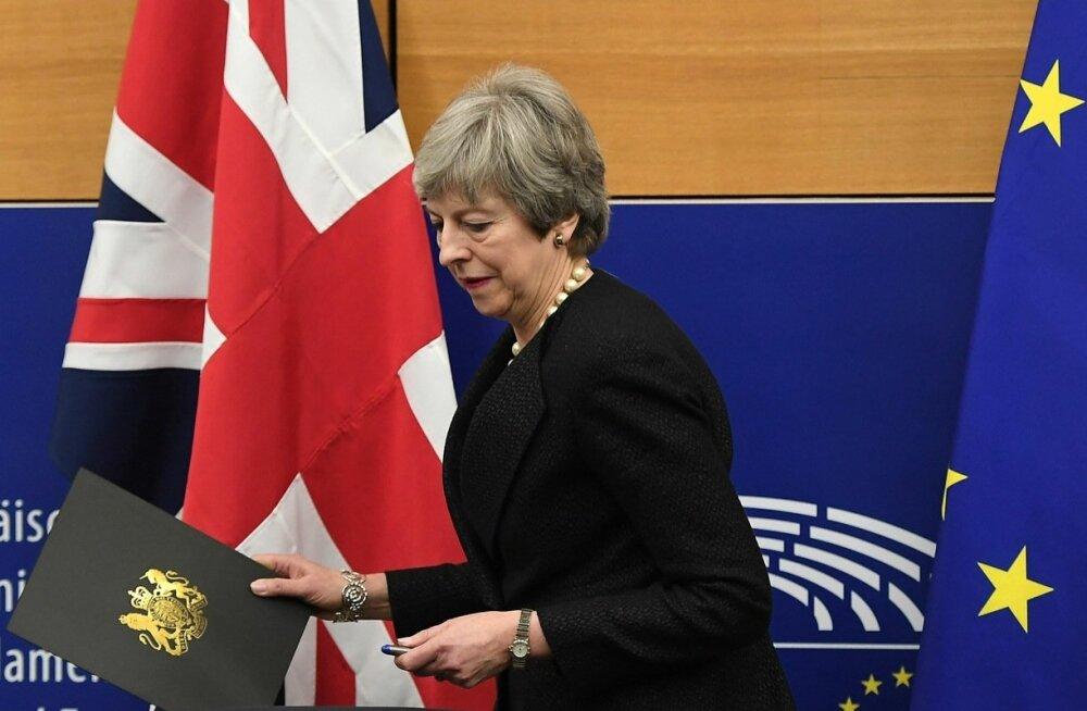 May teatas, et saavutas Brexiti-kokkuleppesse õiguslikult siduvad muudatused, mille üle Briti parlament täna hääletab