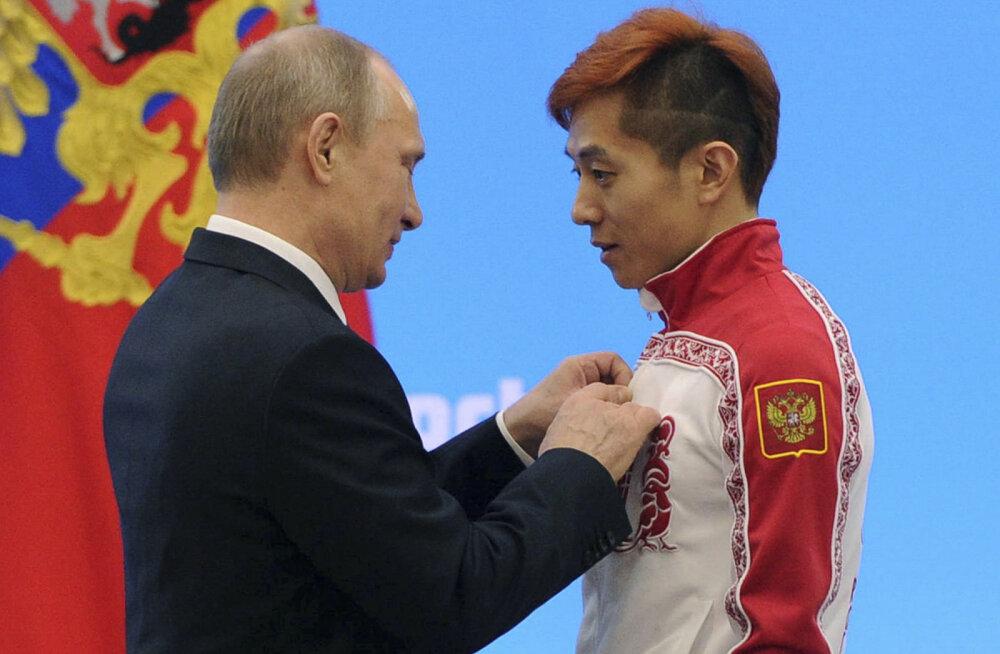 Vladimir Putin ja Viktor Ahn