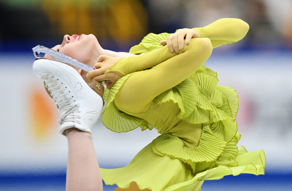 Vaid 16-aastane Eesti iluuisutaja tegi MM-il suure eneseületuse ja pääses vabakava esitama