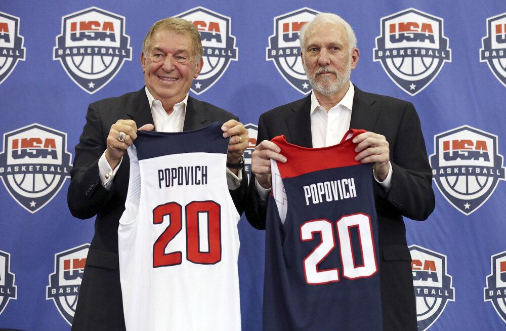 Pettunud USA korvpallijuht saatis koondisest loobunud mängijatele karmi sõnumi