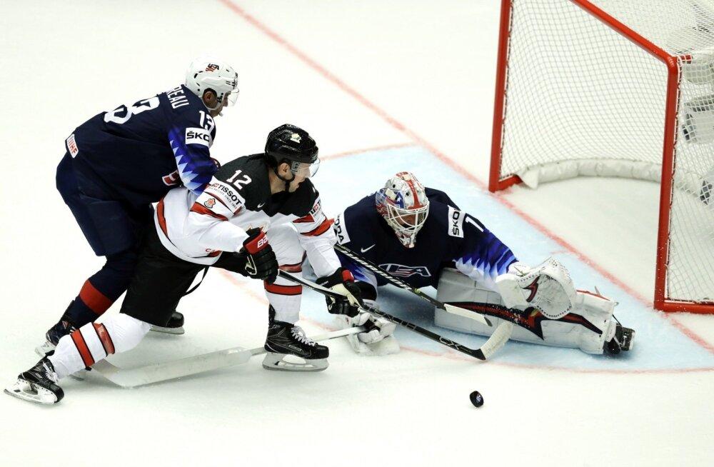 Jäähoki MM 2018, kohtumine USA - Kanada