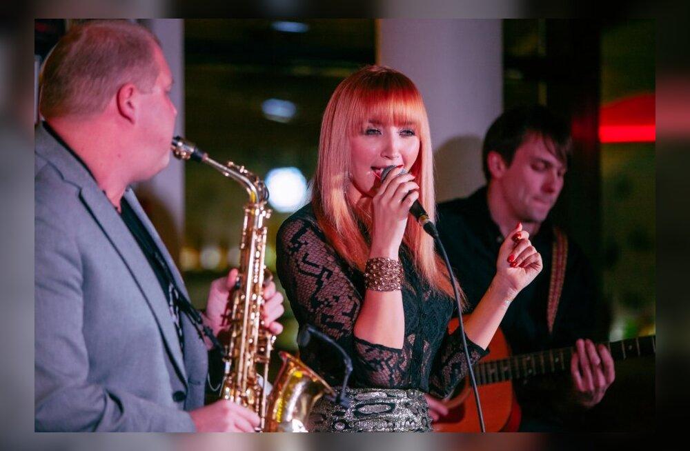 Tanja kontsert Butterfly Lounge'is