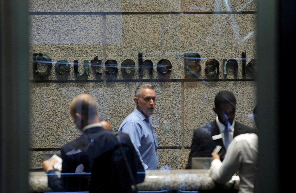 Deutsche Banki kontor New Yorgis