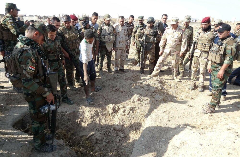 ÜRO: Islamiriik jättis Iraaki maha üle 200 massihaua kuni 12 000 surnukehaga