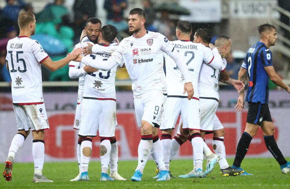 Cagliari peatreener vägevast võidust: tahame näha, kui kaugele suudame jõuda