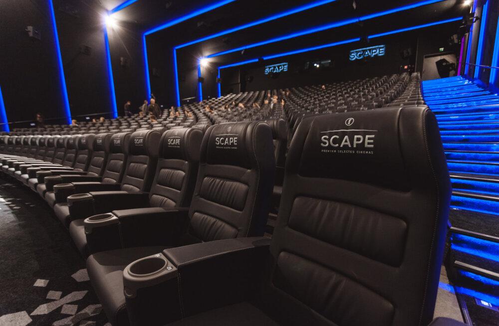 Coca-Cola Plazas on nüüd põhjamaades ainulaadset kinokogemust pakkuv uus saal