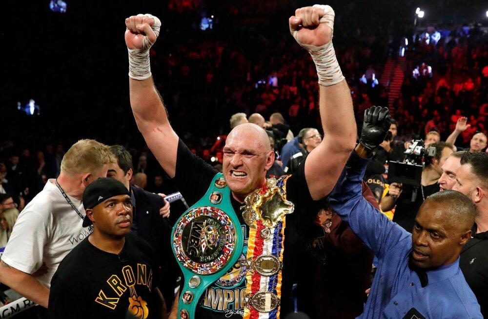 Tyson Fury on nüüd WBC maailmameister!