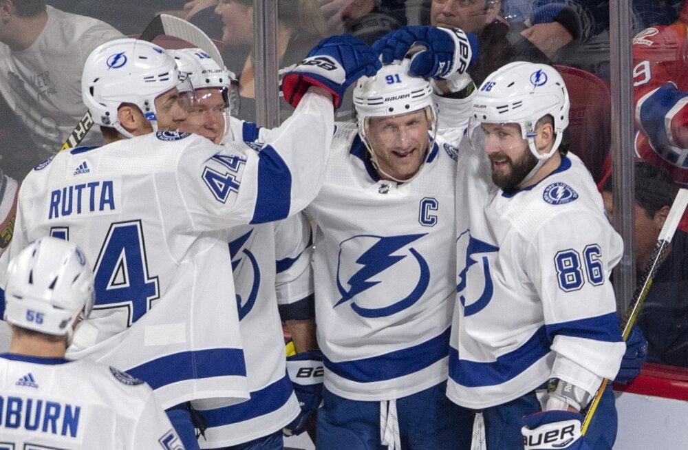 NHL-i liidermeeskond elas lennukis üle suure ehmatuse