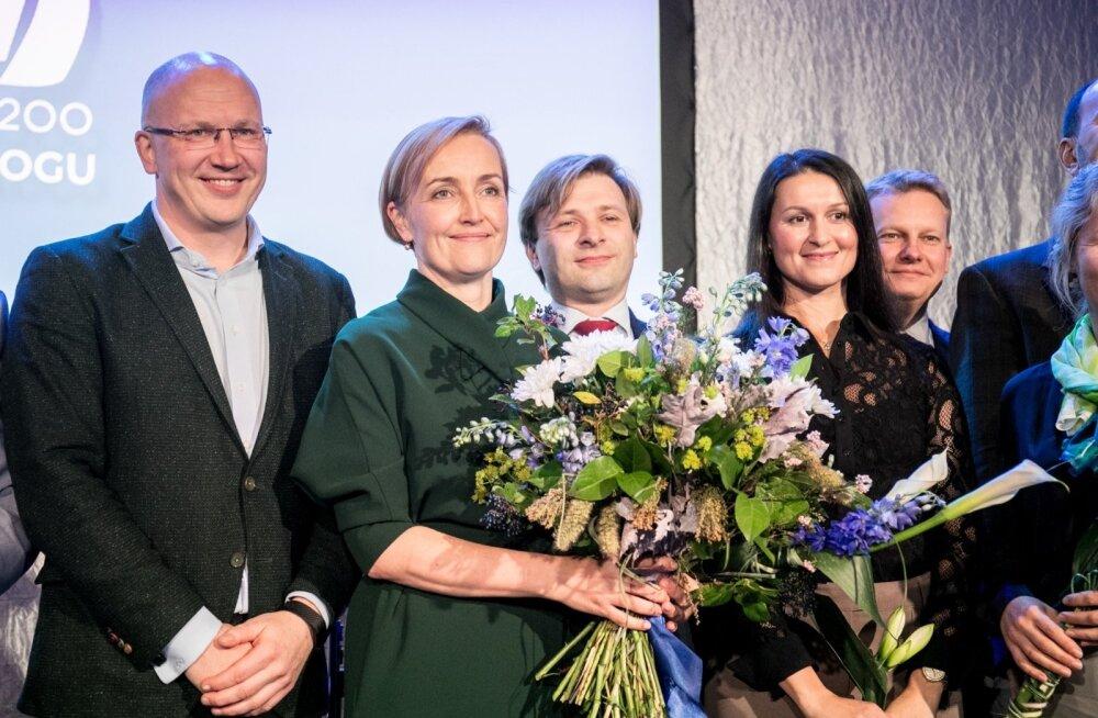 GRAAFIK | Erakondade reitingud: Eesti 200 võib nurjata Reformierakonna valimisvõidu. Sotside toetus on drastiliselt langenud