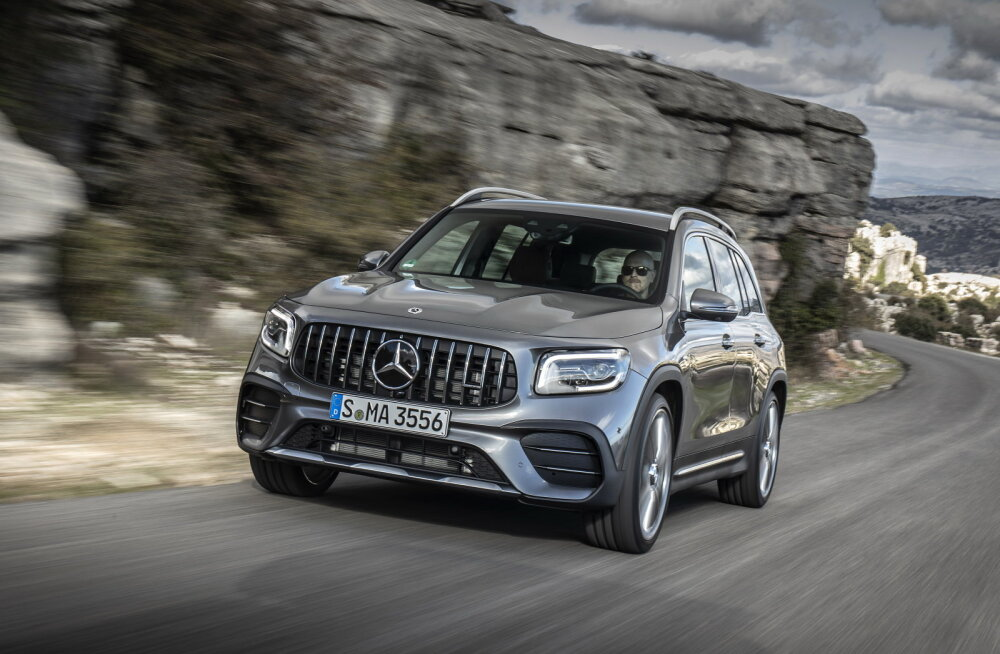 What Car autotest: Mercedes-Benz GLB