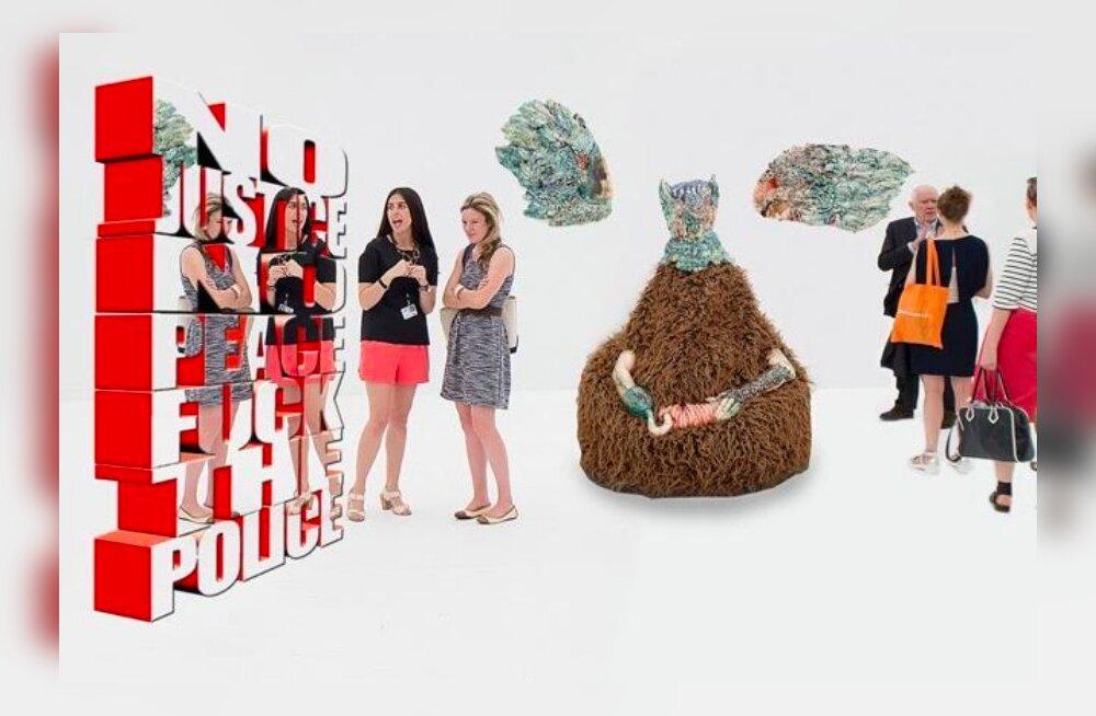 Eesti kunstnikud osalevad Pariisis tunnustatud kunstimessidel