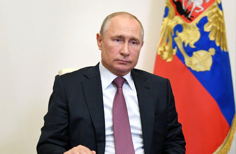 Igavlev Putin paistab venelastele vähem meeldivat
