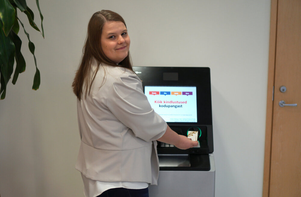 Swedbank paigaldas 40 uue põlvkonna sissemakse võimalusega pangaautomaati