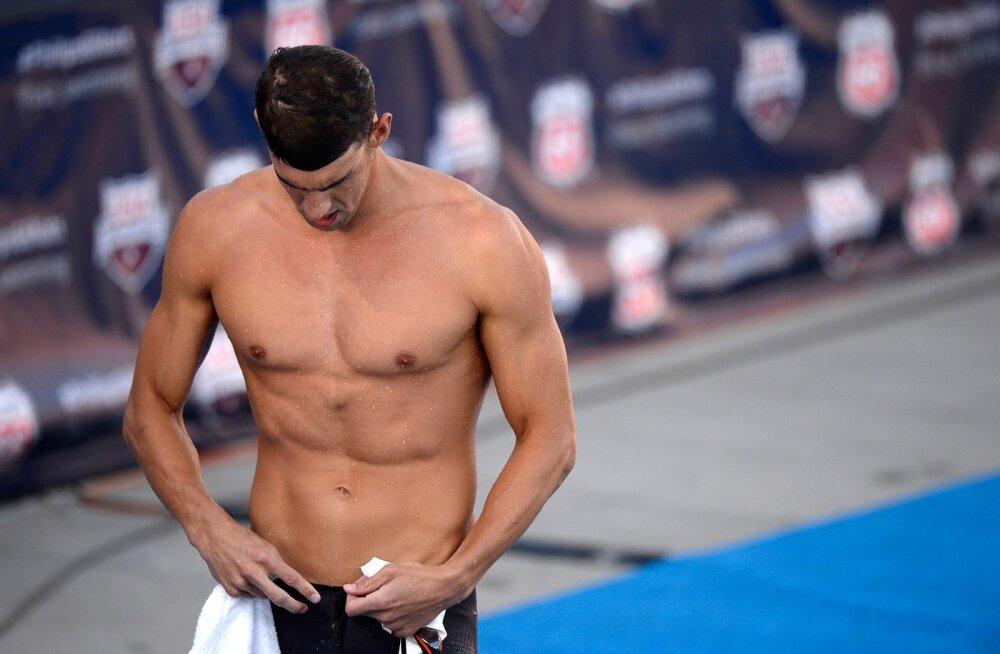 Löödud olekuga Michael Phelps