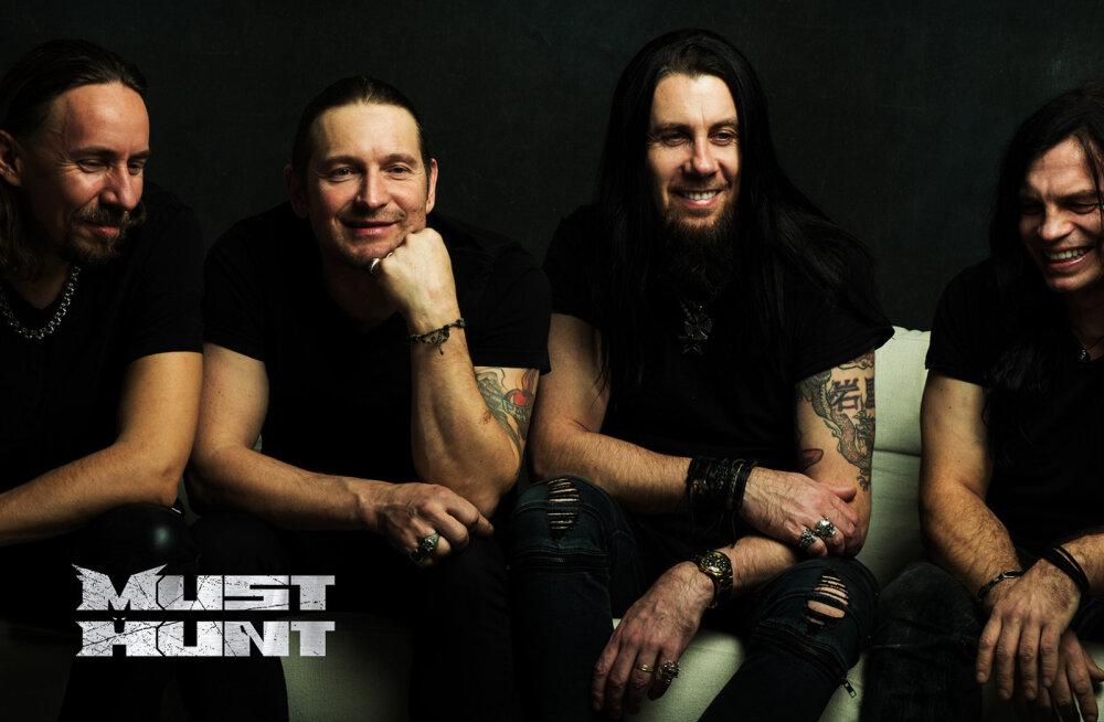 Kuula! Rokkansambel Must Hunt avaldas uue singli