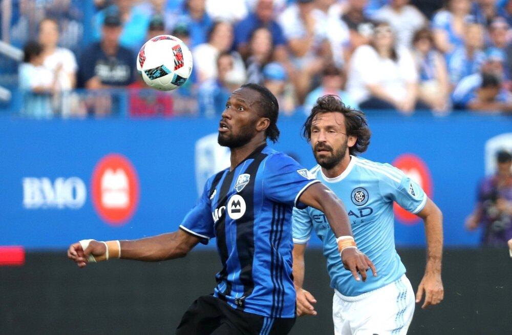 Montreal Impacti mängumees Didier Drogba