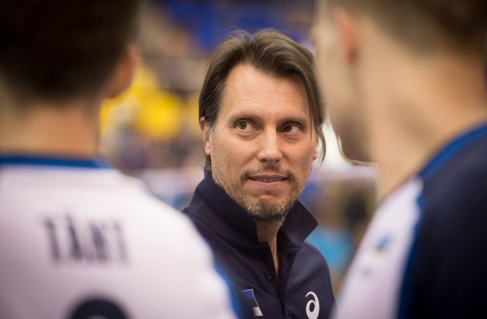 Võrkpall Eesti - Holland
