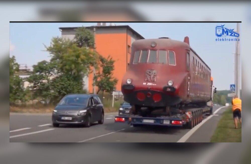 В Чехии восстанавливают поезд, который не ездит уже 60 лет
