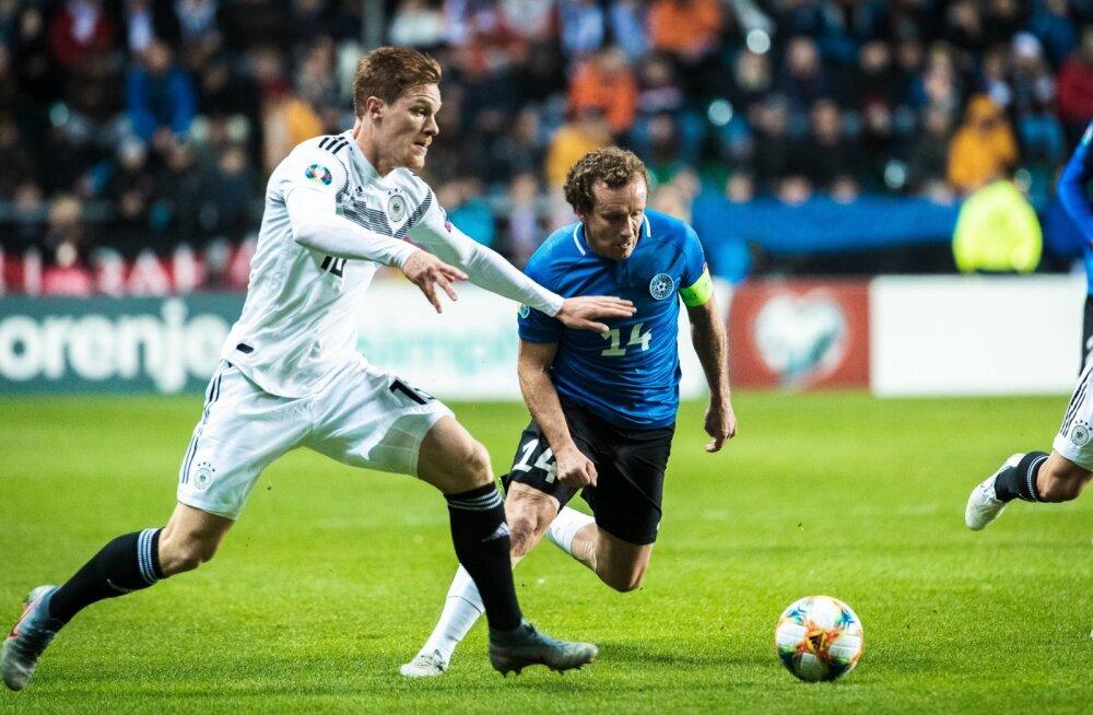 Konstantin Vassiljev Saksamaaga mängus