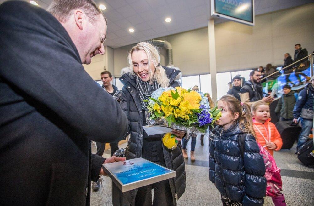 GALERII: Tallinna Sadamasse saabus kümnemiljones reisija