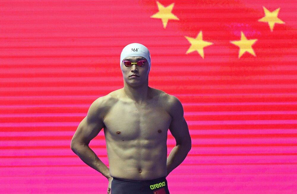 Haamriga dopinguproovid purustanud Hiina ujuja pöördus võistluskeelust vabanemiseks Šveitsi föderaalkohtusse