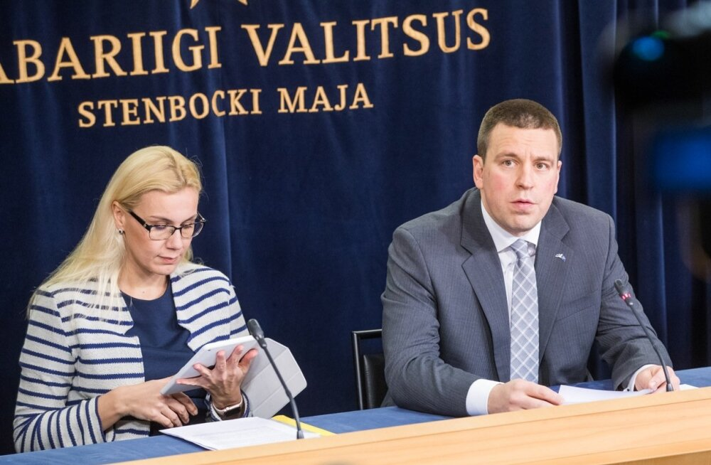 Jüri Ratas: Kadri Simsoni seostamine Teet Soormile esitatud kahtlustusega on alatu! Toetan Simsoni jätkamist ministrina