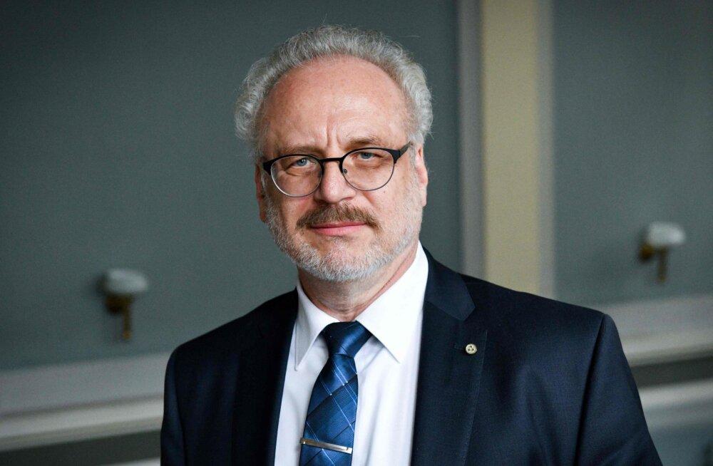 Läti seim valis riigi uueks presidendiks Egils Levitsi